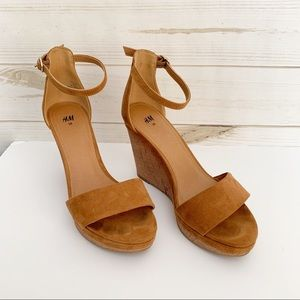 H&M Wedges Size 38
